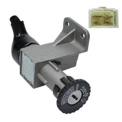 Ignition Key Switch - 4 Wire - GY6 50cc 125cc 150cc 250cc Scooters - Version 19 - VMC Chinese Parts