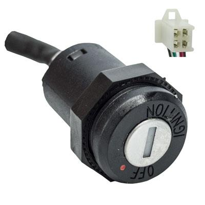 Ignition Key Switch - 4 Wire - Taotao ATVs - Version 7