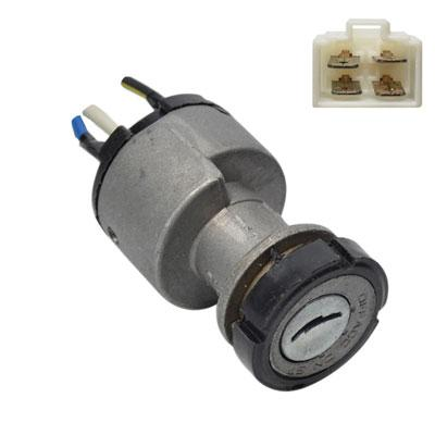 4-Wire Chinese Ignition Key Switch for Kazuma Mammoth 800, Coyote 90 110 150 Go Kart - Version 54 - VMC Chinese Parts