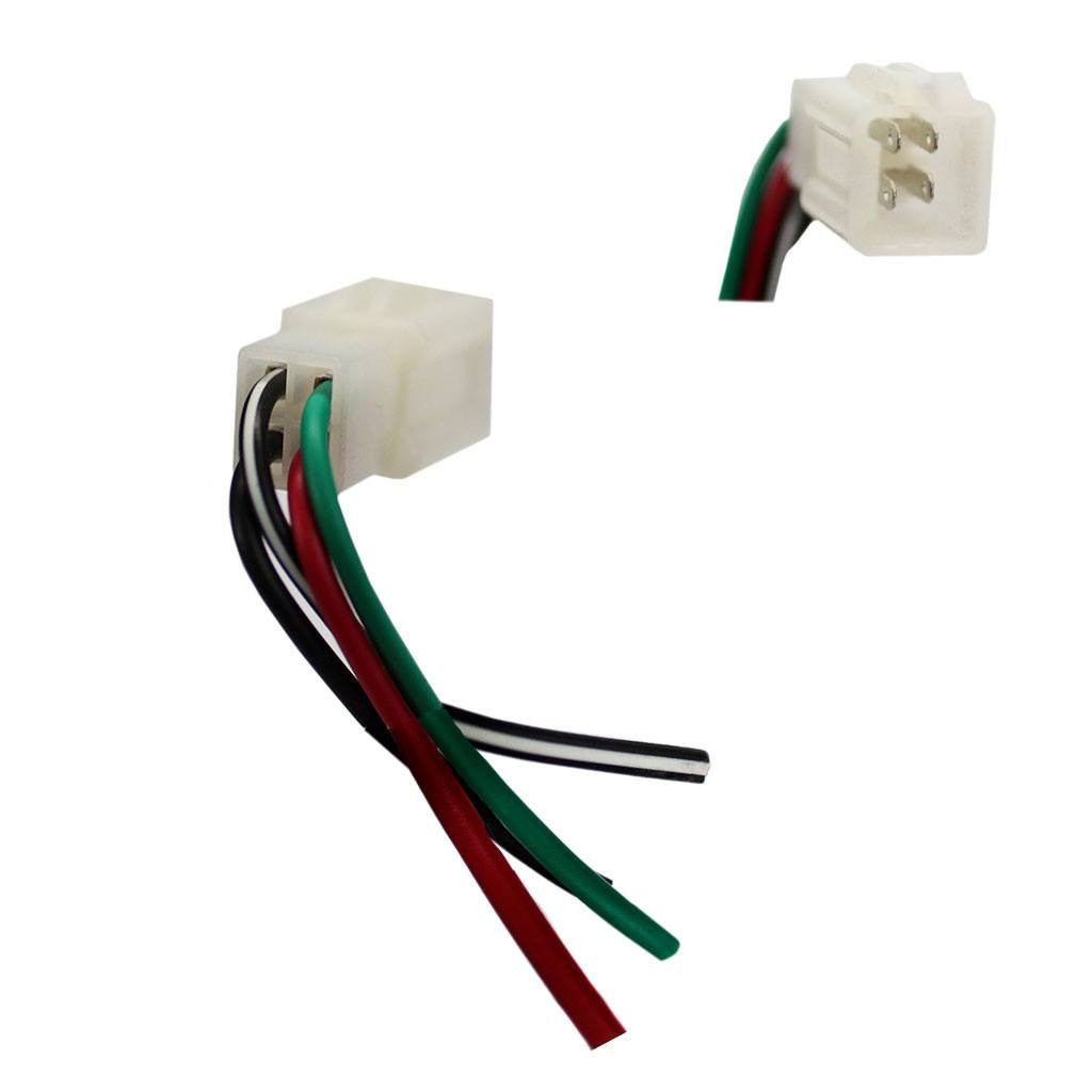 Ignition Key Switch Wiring Harness Plug - 4 Wire on wire cap, wire holder, wire nut, wire connector, wire lamp, wire leads, wire antenna, wire sleeve, wire ball, wire clothing,