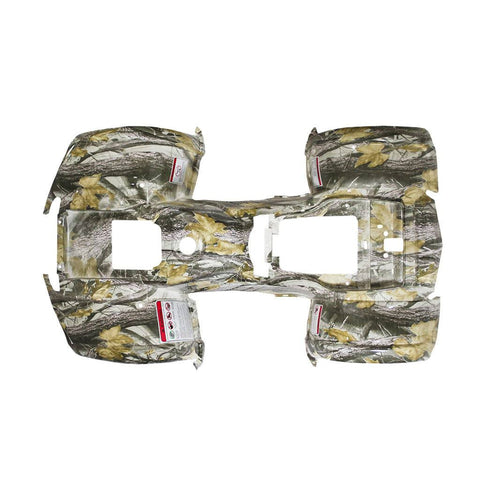 Body Fender Kit for Chinese ATV - 1 piece - White Tree Camo - Trail Utility
