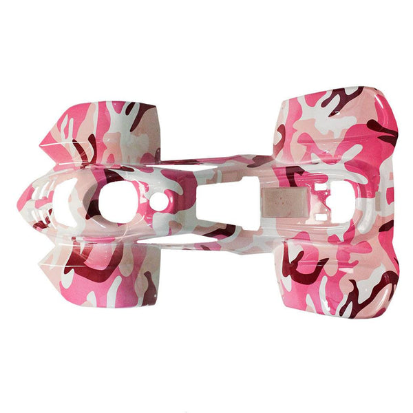 Body Fender Kit for Chinese ATV - Coolster 3050C - 1 piece - Pink Camo - VMC Chinese Parts