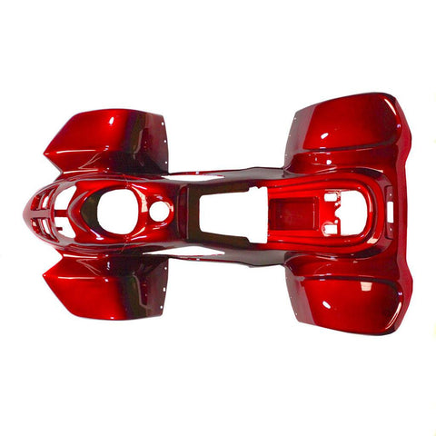 Body Fender Kit for Chinese ATV - Coolster 3050C - 1 piece - Shiny Red