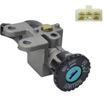 5-Wire Chinese Ignition Key Switch Set for GY6 50cc Scooters Mopeds - Version 18 - VMC Chinese Parts