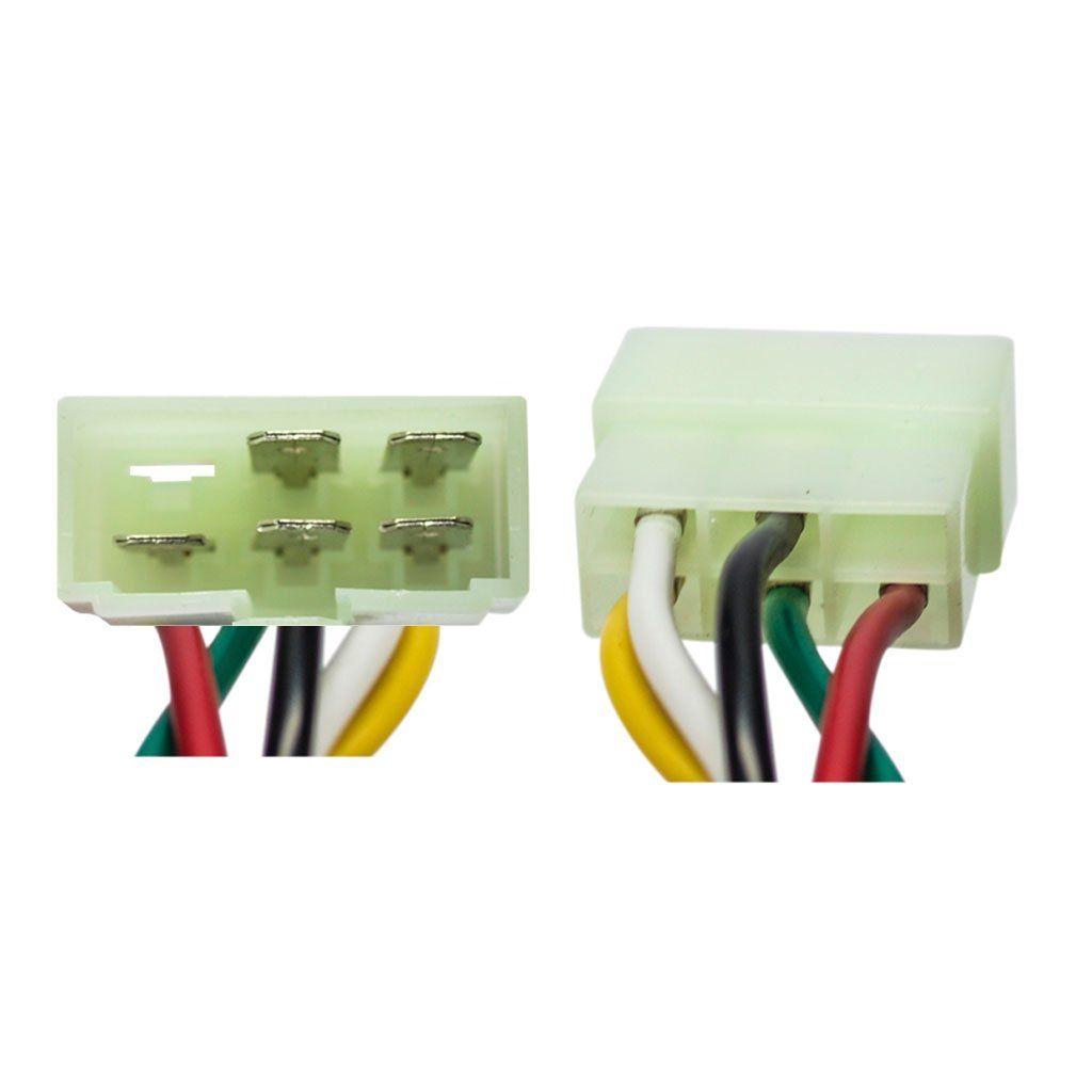 Ignition Key Switch - 5 Wire - Go Karts - Version 43 on