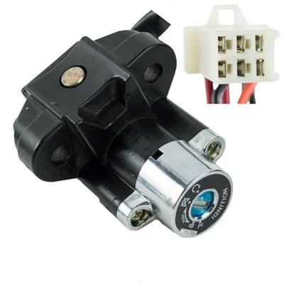 Ignition Key Switch - 6 Wire - Jonway YY250T Scooter