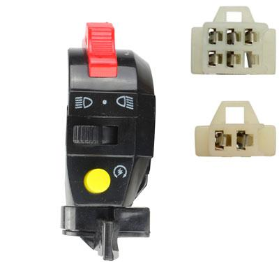 Handlebar Switch - 7 Wire - Left - ATV - Version 5