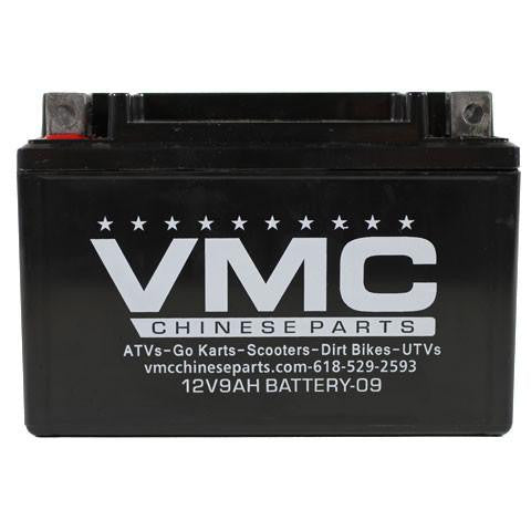 Chinese ATV 12 Volt 9Ah Battery - VMC Chinese Parts
