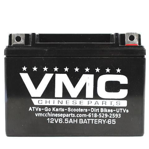 Chinese ATV 12 Volt 6.5Ah Battery - VMC Chinese Parts