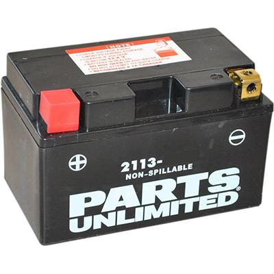 Parts Unlimited AGM Maintenance Free Battery - YT9B-4/YT9B-BS - [2113-0088]