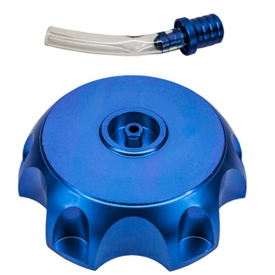 Gas Tank Cap - 50mm - Metal - BLUE - Version 70 - VMC Chinese Parts