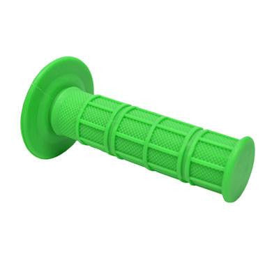 Bright Green Throttle Grips - Pair