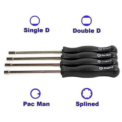 Carburetor Adjustment 4-Piece Tool Set  Zama, Ryobi, Echo, Poulan, Walbro and more! - VMC Chinese Parts