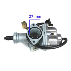Chinese PZ27 Carburetor - Cable Choke - Version 17 - 200cc - VMC Chinese Parts