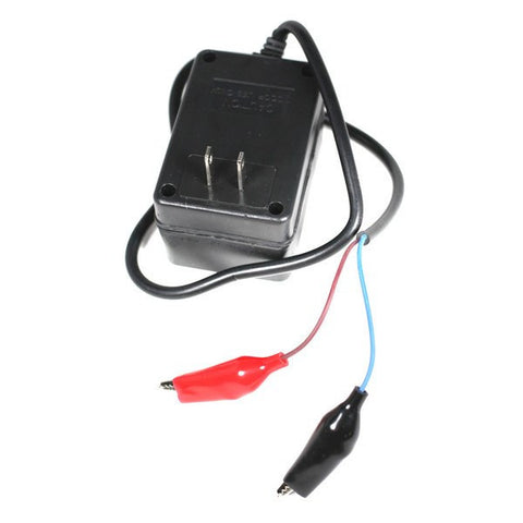 Battery Charger 12v 1a with Alligator Clips - Version 2