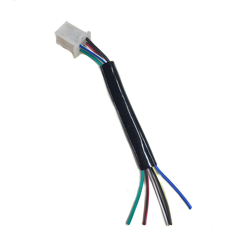 6 Pin Cdi Wiring Harness Plug 5 Wire 50cc To 135cc Works With Dirt Bike Together Diagram In