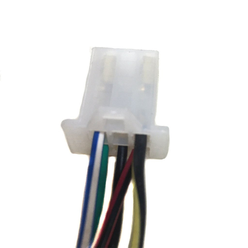 6 pin cdi wiring harness plug 5 wire 50cc to 135cc. Black Bedroom Furniture Sets. Home Design Ideas