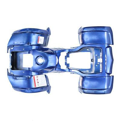Body Fender Kit for Chinese ATV - 1 piece - Blue - Trail Utility - VMC Chinese Parts