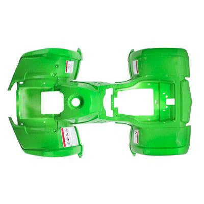 Chinese ATV Body Fender Kit - 1 piece - Bright Green - Trail Utility