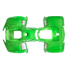 Chinese ATV Body Fender Kit - 1 piece - Bright Green - Trail Utility - VMC Chinese Parts