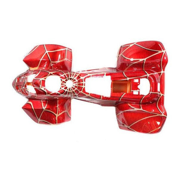 Body Fender Kit for Chinese ATV - Coolster 3050C - 1 piece - Red Spider - VMC Chinese Parts