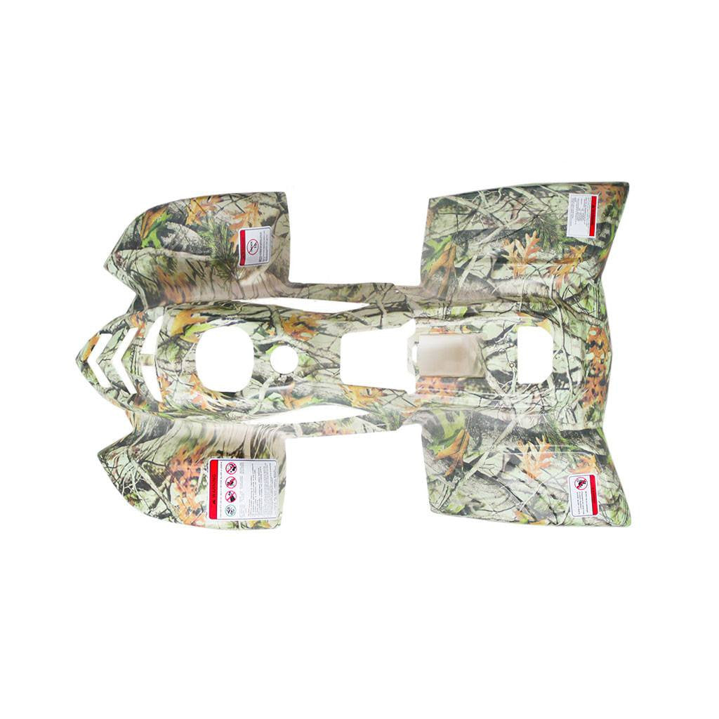 Chinese ATV Body Fender Kit - 2 piece - White Tree Camo - VMC Chinese Parts