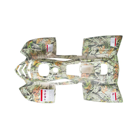 Body Fender Kit for Chinese ATV - 2 piece - White Tree Camo