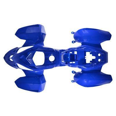 Body Fender Kit for Chinese ATV - Coolster 3050B - 1 piece - Blue - VMC Chinese Parts