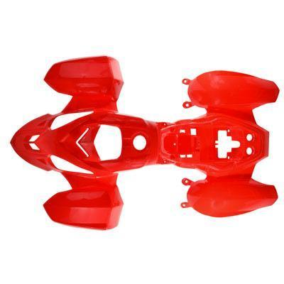 Body Fender Kit for Chinese ATV - Coolster 3050B - 1 piece - Red