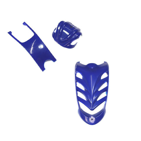 Body Accessory Kit - 3-Piece VX Style ATV - Blue