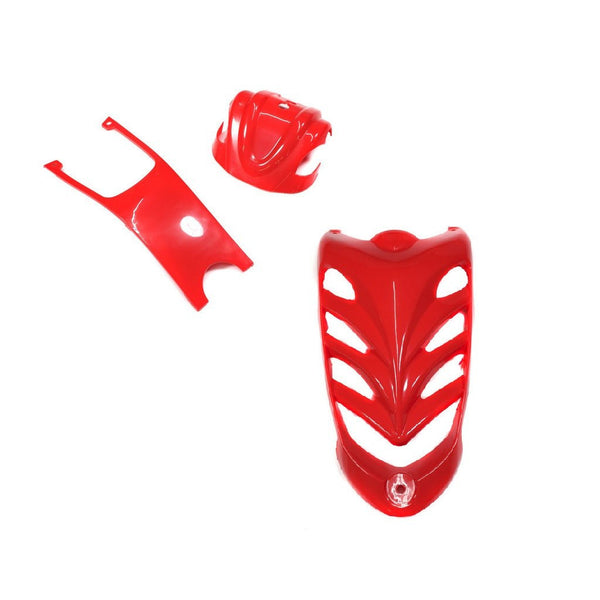 Body Accessory Kit - 3-Piece VX Style ATV - Red - VMC Chinese Parts
