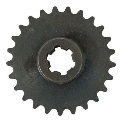25-25 Tooth Front Sprocket #25 Chain - Pocket Bike, Scooter, Mini Chopper