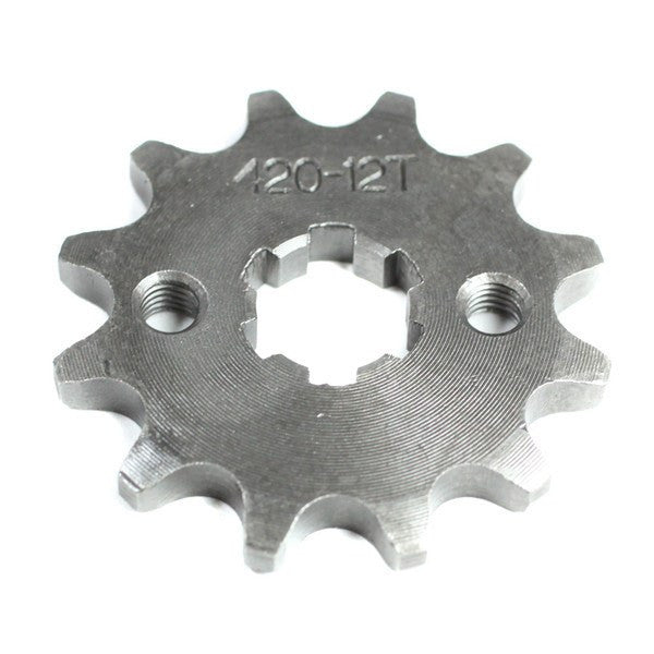 Front Sprocket 420-12 Tooth for 50cc-125cc Engines - VMC Chinese Parts