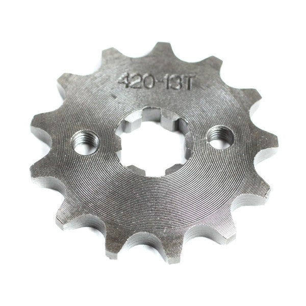 Front Sprocket 420-13 Tooth for 50cc-125cc Engines - VMC Chinese Parts