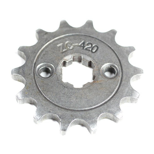 Front Sprocket 420-14 Tooth for 50cc-125cc Engines - VMC Chinese Parts