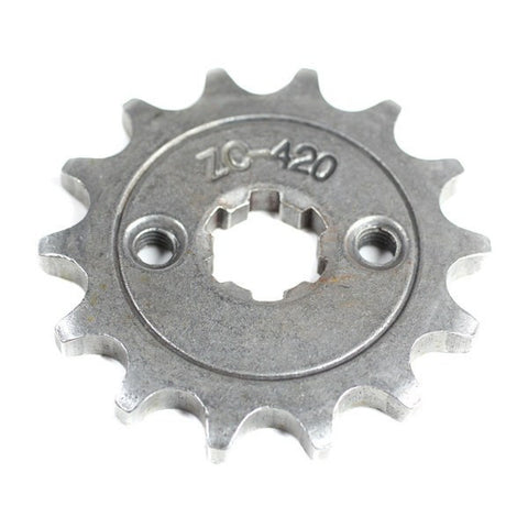 Front Sprocket 420-14 Tooth for 50cc-125cc Engines
