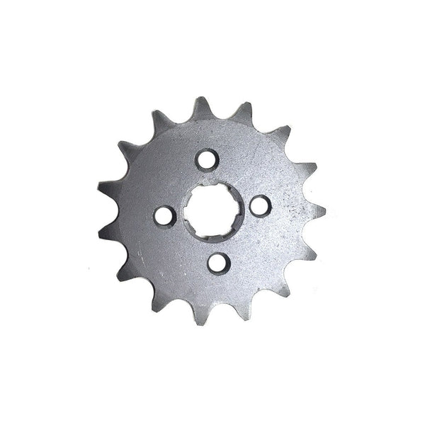Front Sprocket 420-15 Tooth for 50cc-125cc Engines - VMC Chinese Parts