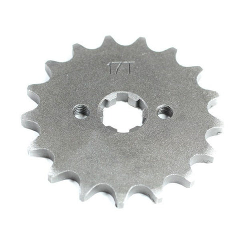 Gearing Upgrade 17 Tooth Front Sprocket for Baimo Renegade 125