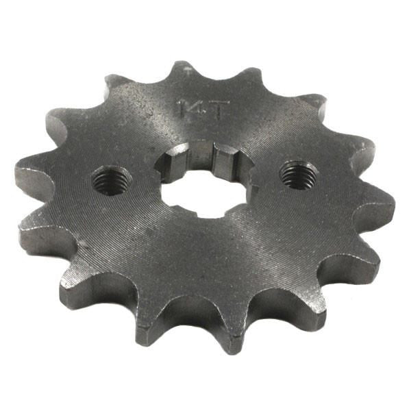 Chinese ATV Front Sprocket 428-14T - VMC Chinese Parts