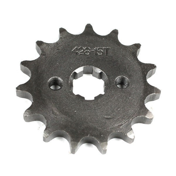 Front Sprocket 428-15 Tooth for 50cc-125cc Engines - VMC Chinese Parts
