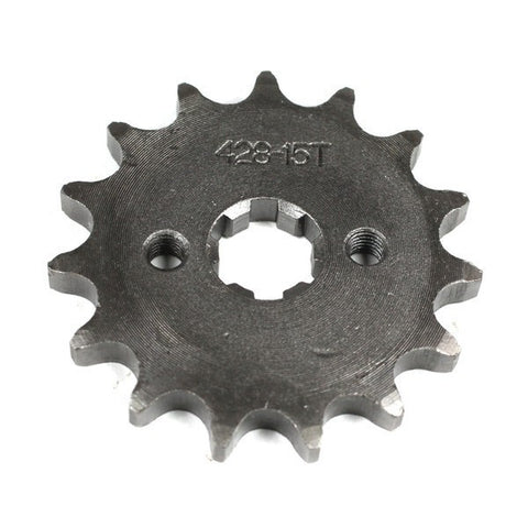 Front Sprocket 428-15 Tooth for 50cc-125cc Engines