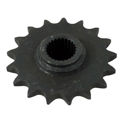 Front Sprocket 530-17 Tooth with 24 splines