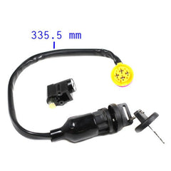 4-Wire Chinese Ignition Key Switch Set for Jaguar 400B ATV - Version 13 - VMC Chinese Parts