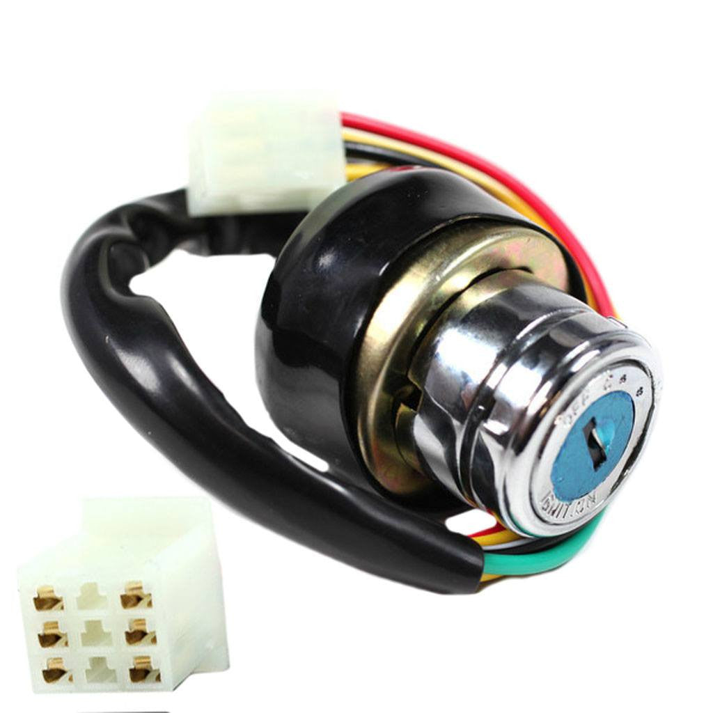 6 wire ignition key switch for kazuma version 1. Black Bedroom Furniture Sets. Home Design Ideas