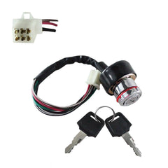 6-Wire Ignition Key Switch - Version 25 - VMC Chinese Parts