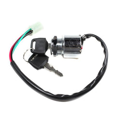 4-Wire Chinese Ignition Key Switch Version 9 for 50cc - 250cc - VMC Chinese Parts