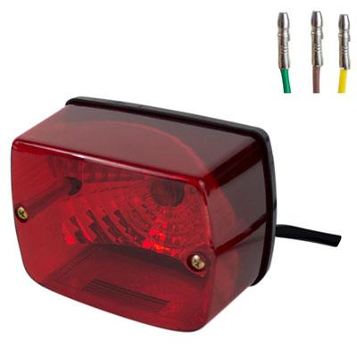 Chinese ATV Tail Light - Version 62 - for 110cc-250cc - VMC Chinese Parts