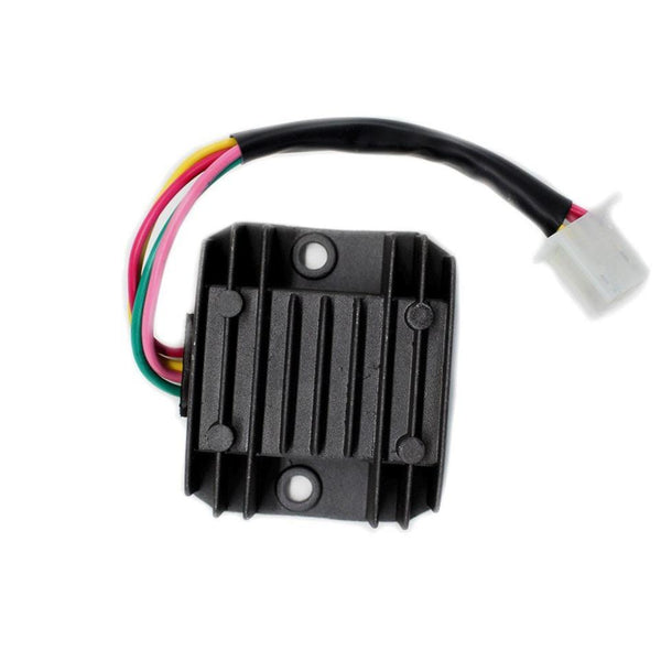 Voltage Regulator - 4 Wire / 1 Plug for Dirt Bikes Scooters ATVs - Version 1 - VMC Chinese Parts