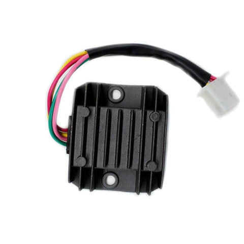 Voltage Regulator - 4 Wire / 1 Plug for Dirt Bikes Scooters ATVs - Version 1
