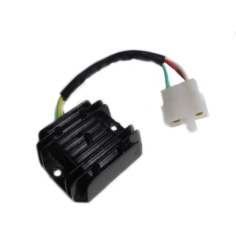 Voltage Regulator - 4 Wire / 1 Plug for Dirt Bikes Scooters ATVs - Version 40